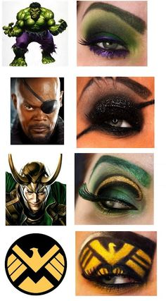 Avengers Makeup 2