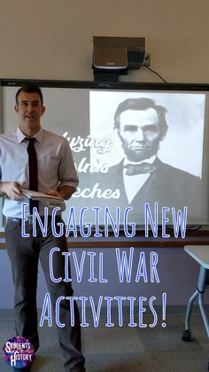 Abraham Lincoln and the Civil War Lesson Plans - This AWESOME set of Civil War activities includes dozens of resources and lesson plans for an amazi - Middle School Us History, High School American History, Teaching American History, American History Lessons, Teaching History, History Major, Medical History, European History, British History