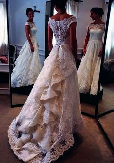Lace Wedding Dress with Waistband 0023 Onlyforbrides Online Store Powered by Storenvy