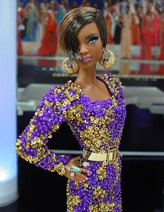 OOAK Barbie NiniMomo's Miss Barbados 2011