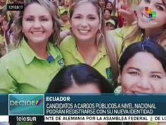 Ecuador: por primera vez una candidata trans buscará un escaño en AN