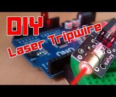 DIY   Easy Arduino Laser Tripwire Security System!