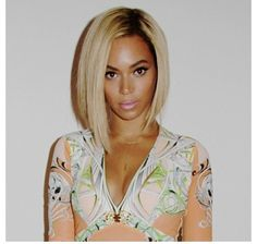 Beyonce rocks this blond bob