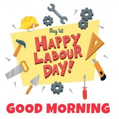 Creative Flyer Design, Creative Flyers, Labor Day Pictures, Engineers Day, Labour Day, Happy Labor Day, Vector Free Download, Graphic Illustration, Happy Holidays