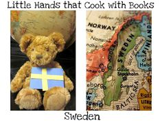 Activities, Recipes, and Books about Sweden collected by Little Hands that Cook with Books