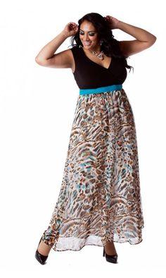 Curvalicious Clothes :: Plus Size Dresses :: Sabina Plus Size Maxi Dress Designer Plus Size Clothing, Plus Size Designers, Designer Dresses, Plus Size Gowns, Plus Size Maxi Dresses, Plus Size Outfits, Fashion Now, Curvy Fashion, Plus Size Fashion
