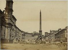 a Piazza Navona. Piazza Navona, City Photography, Paris Skyline, Cities, Travel, Vintage, Rome, Italia, Fotografia