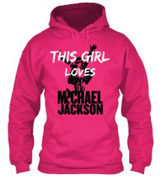 Love Michael Jackson (LIMITED) Pronouncing it loud and proud baby!!!!
