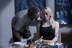 Battlestar Galactica. Season 3 Epi1 02 Leoben and Thrace