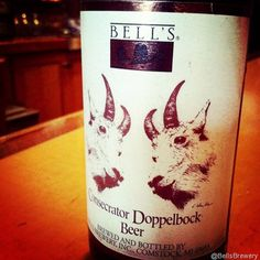 Bell's Brewery - Consecrator Dopplebock Available Now - Comeon' Bell's get to Colorado already.