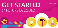 Startups, developer entrepreneurs, indie game developers get started @ Future Decoded