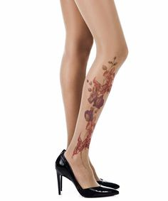 Sexy skin color sheer tights with a floral design on the right leg. these floral tattoo tights are anything but boring; it is the casual must-have leg-wear Floral Tights, Sheer Tights, Tattoo Tights, Girl Closet, Fashion Tights, Leggings, Print Tights, Tattoos, Nice Things