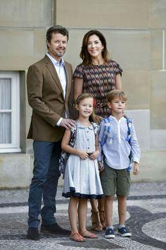 Première rentrée scolaire de Josephine et Vincent