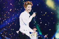 Luhan - 140705EXO from Exoplanet #1 - The Lost Planet in Chengdu Credit: Love U Like U.