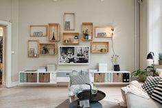 71 ideias para reutilizar caixotes de madeira na decoração