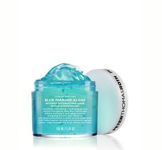 Peter Thomas Roth Blue Marine Algae Intense Hydrating Mask is a deeply hydrating & nourishing intensive gel mask. Take a deep dive into refreshing hydration, glacial lake blue marine algae helps deliver nutrients & maximum anti-aging moisture. Anti Aging Face Mask, Anti Aging Facial, Moisturizing Face Mask, Hydrating Mask, Gel Face Mask, Face Serum, Rich Tea, Mask For Dry Skin, Skin Care Clinic