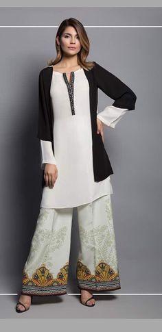 27d7dc42be Pakistani Suits, Pakistani Dresses, Indian Dresses, Ethnic Trends, Shalwar  Kameez, Salwar