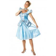 Un des plus beaux déguisements de princesses Disney : Costume de Cendrillon adulte