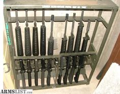 ARMSLIST - For Sale: M16 Military Gun Rack
