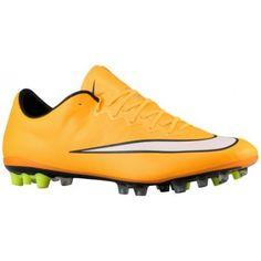 competitive price efbbc e549f Nike Mercurial Vapor X AG - Men s - Soccer - Shoes - Laser Orange Black Volt  White-sku 48552800