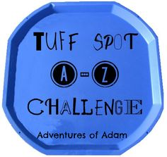 Wow - how quickly has our Tuff Spot A-Z Challenge gone. We conclude our challenge with Z is for Zig-Zag Tuff Spot. This was an easy activity to set up. Tuff Spot, Eyfs Outdoor Area, Outdoor Play, Sensory Tubs, Sensory Play, Toddler Preschool, Toddler Activities, Toddler Play, Reception Class