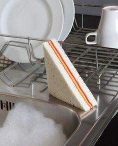 Realistic Sandwich Sponge