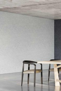 Introducing Ecoustic V, our new elegant v groove acoustic panels + tiles combining architectural lines with sound absorption. Designed by our studio to offer ultimate design flexibility. Furniture, Tiles, Acoustic Panels, Dining Bench, Wall, Home Decor, Acoustic, Modular Tile, Paneling