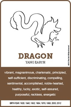 The DRAGON Personality