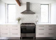 Home, Interior, House, Amanda, Shadforth, Oracle Fox, White Kitchen, Bakers Tiles, Kitchen, Designer Kitchen