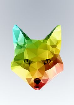 Glass Animal - FOX head by Three Of The Possessed
