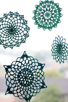 Summer mandala's: a free crochet pattern in NL/EN on haakmaarraak.nl! #Crochet… More