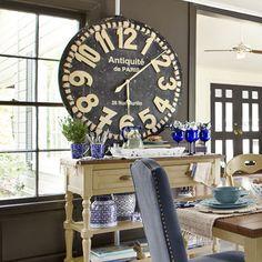 Grandiose Wall Clock - Black