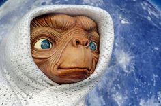 The 35th anniversary of the release...On June 11, 1982, Steven Spielberg's classic film, E.T. the Extra-Terrestrial  was released in theaters across America.