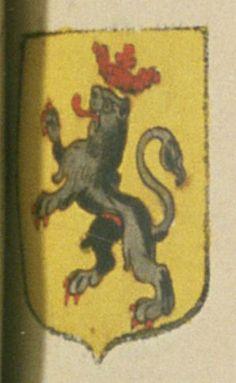 Alexandre DE GRASSE, seigneur de Mouans. Antoine DE GRASSE, sieur de Saint-Cezary. Porte : d'or, à un lion de sable, couronné, lampassé, armé et vilainé de gueules | N° 7 et N° 23