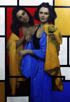Cesar Santos #art #paintings #figurativeart #women