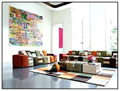 Contemporary Sofa Design Ideas by Roche-Bobois Living Room Sets, Living Room Designs, Living Room Decor, Sofa Design, Interior Design, Diy Interior, Style Deco, Room Wall Decor, Upholstered Furniture