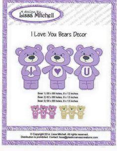 I LOVE YOU BEARS DECOR by LISSA MITCHELL 2/5