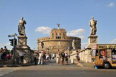'Castel Sant Angelo' Rome by FaceMePLS, via Flickr