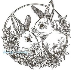 Detailed Coloring Pages For Adults - Bing Images | Bunny ...