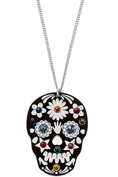 Sugar Skull Necklace Day of the Dead
