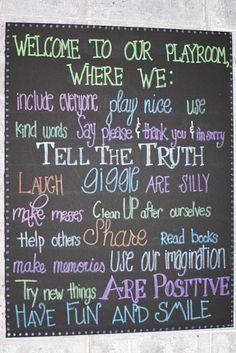 Chalkboard signs for kids room/nursery by Sweetpeasparty on Etsy, $16.00