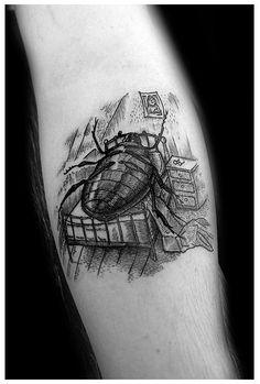 kafka, gregor samsa, gregorsamsa, metamorphosis, tattoo, feels