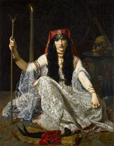 'The Sorceress' by Georges Merle.