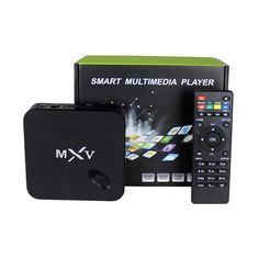 Full HD 1080 P MXV Android Smart TV Box S805 Quad Core Приемник HDMI медиа-плеер С КОДИ/xbmc H.265 Google play