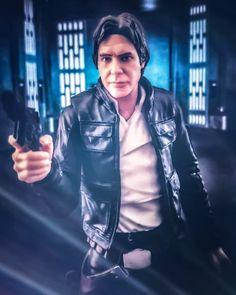 Han Solo, Star Wars, Leather Jacket, Jackets, Fictional Characters, Fashion, Studded Leather Jacket, Down Jackets, Moda