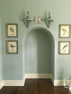 Walls & arches Blue Rooms, Cottage Design, Arches, Walls, Play, Retro, Colors, Furniture, Ideas