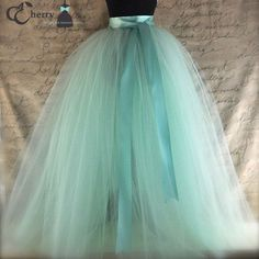 Items similar to Full length sewn unlined tulle skirt. Weddings and formal wear for girls or women. Over 30 colors available. on Etsy : Full length sewn unlined tulle skirt. Weddings and formal wear for girls or women. Over 30 colors av Tutu En Tulle, Blue Tulle Skirt, Tulle Skirt Bridesmaid, Tulle Dress, Adult Tulle Skirt, Tulle Skirts, Pink Tulle, Pretty Dresses, Beautiful Dresses
