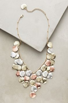 Aerarium Bib Necklace #anthropologie