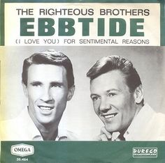 A remarkable year for the Righteous Brothers was coming to a satisfying conclusion 51 years ago, as 'Ebb Tide' smashed into the Hot 100 at No. Bobby Hatfield, Bill Medley, The Righteous Brothers, Unchained Melody, American Bandstand, Fun Music, Rock N Roll Music, Music Clips, Rockn Roll