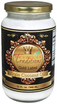 Tropical Traditions Virgin Coconut Oil Giveaway! #LCHF